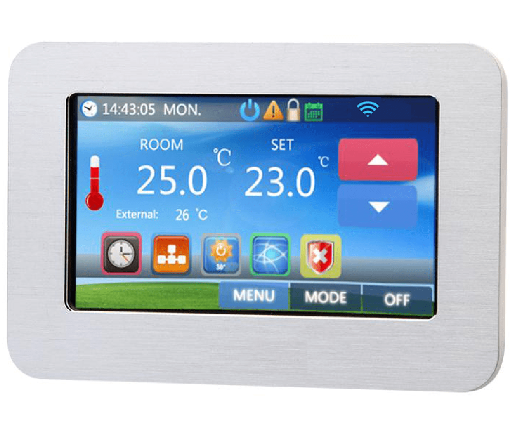 θερμοστάτης smart - WiFi - internet control