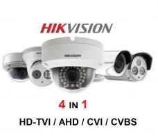 Κάμερες 4 σε 1 HDTVI/AHD/CVI/CVBS