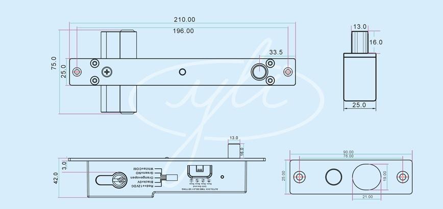 YB-500C-dimensions